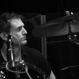 anthony on drums